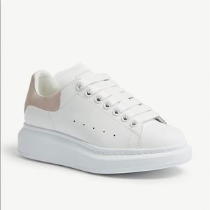 Alexander McQueen chunky leather low-top sneakers